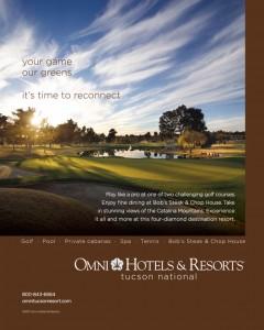 Omni Tucson National ad