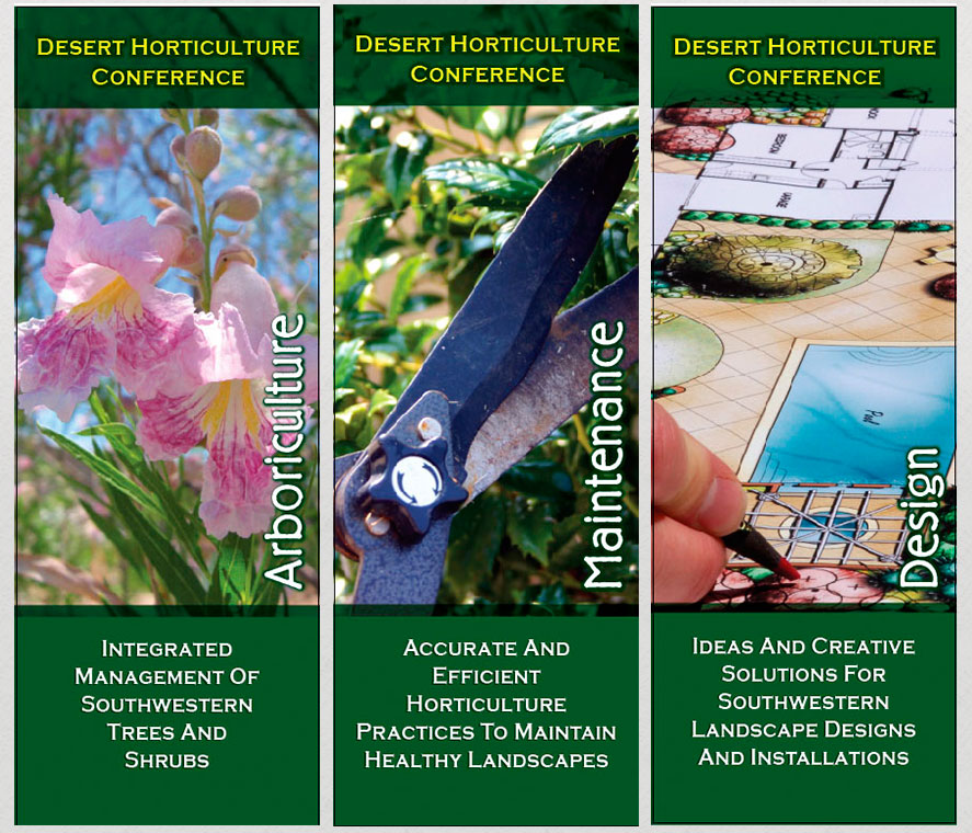UA Horticulture Department Trade Show Banners