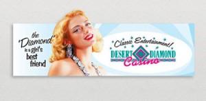 Desert Diamond Casino Billboard