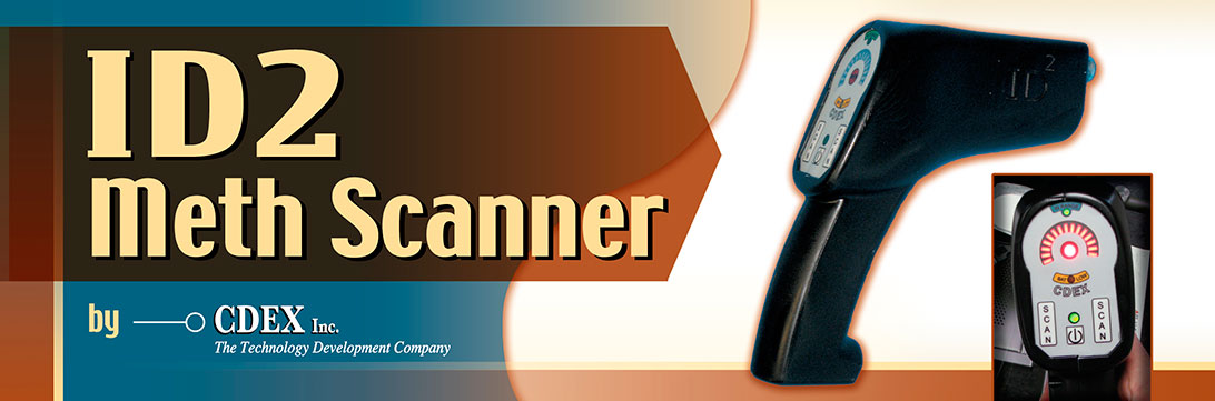 ID2 Meth Scanner Trade Show Banner