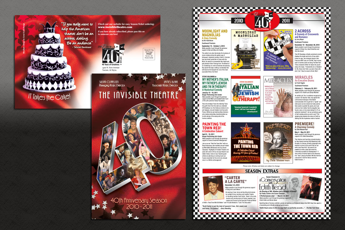 Invisible Theatre Season Brochure