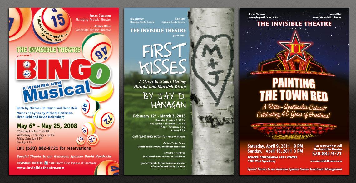 Invisible Theatre Postcards