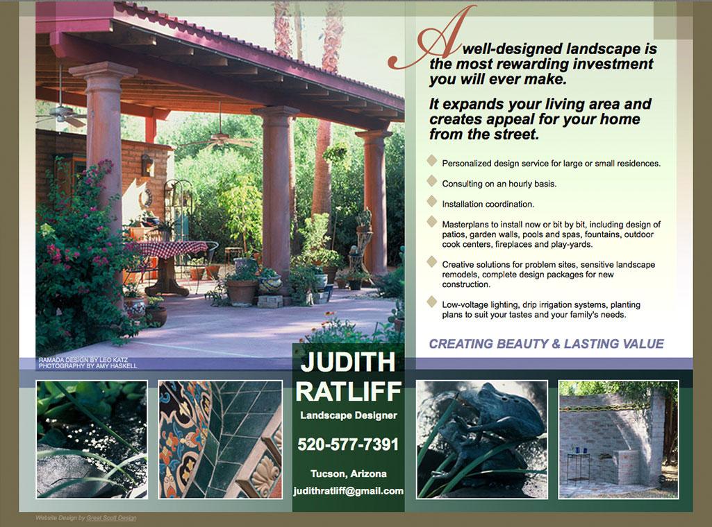 Judith Ratliff Landscape Designer