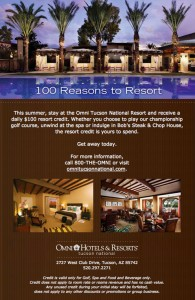 100 Reasons to Resort