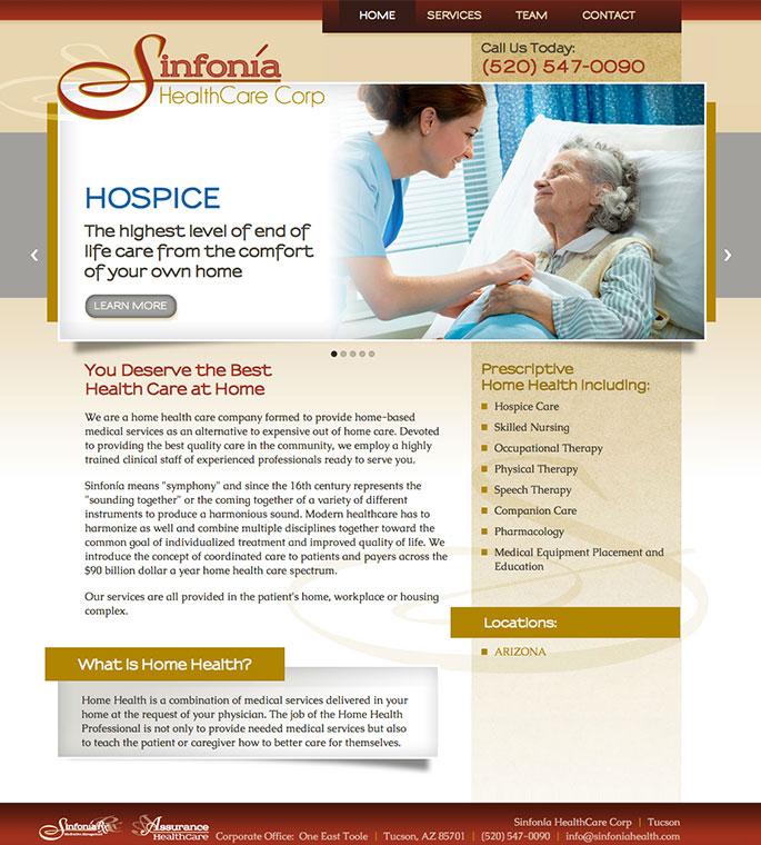 Sinfonia HealthCare Corp