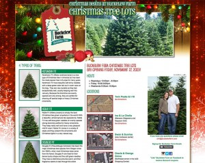 Buckelew Farm Christmas Trees Website