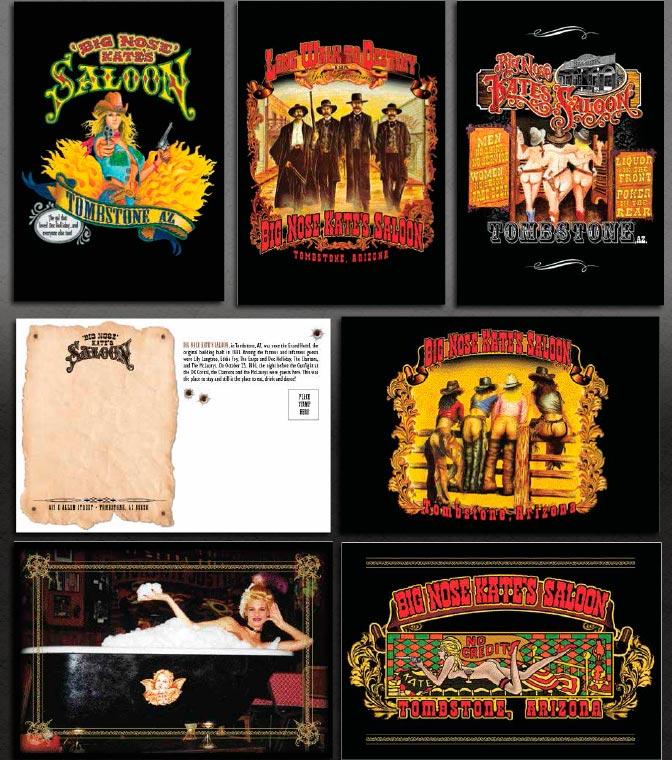 Big Nose Kate's Saloon Postcards