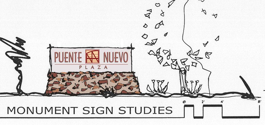 Puente Nuevo Monument Signage