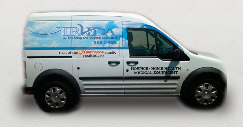 Assurance AirVida Vehicle Wrap