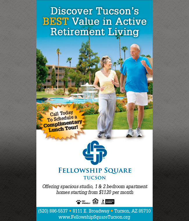 Fellowship Square Newspaper Ad