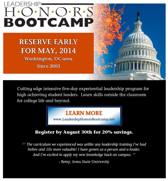 Leadership Honors Bootcamp