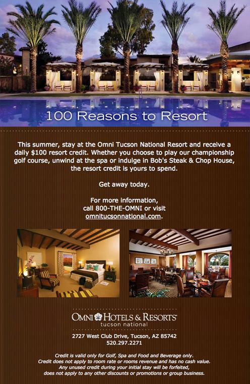 100 Reasons to Resort