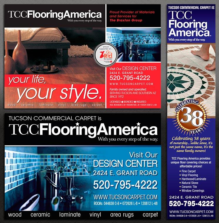 TCC Flooring America Ads