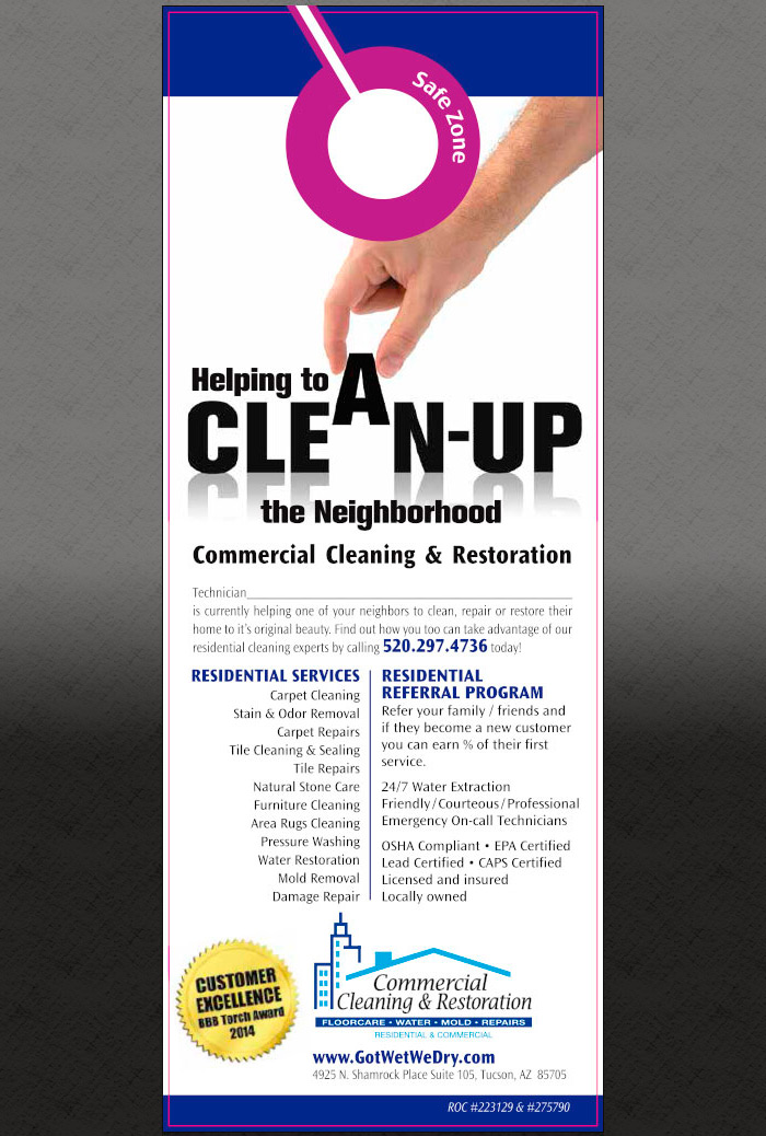 Commercial Cleaning & Restoration